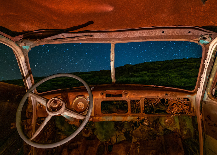 Night Rider Photography Art | John Gregor Photography