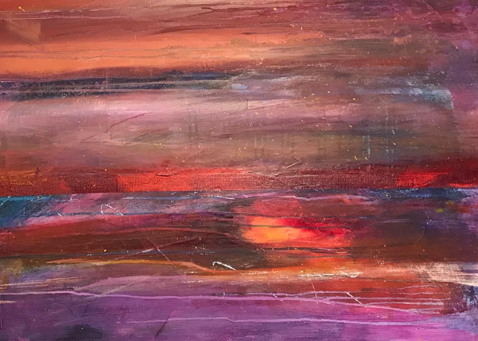 Sunset Art | Jerry Hardesty Studio