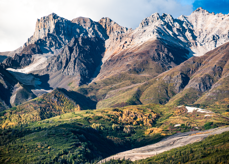 Alaska Aerial Bonanza Ridge Photography Art | Hatch Photo Artistry LLC