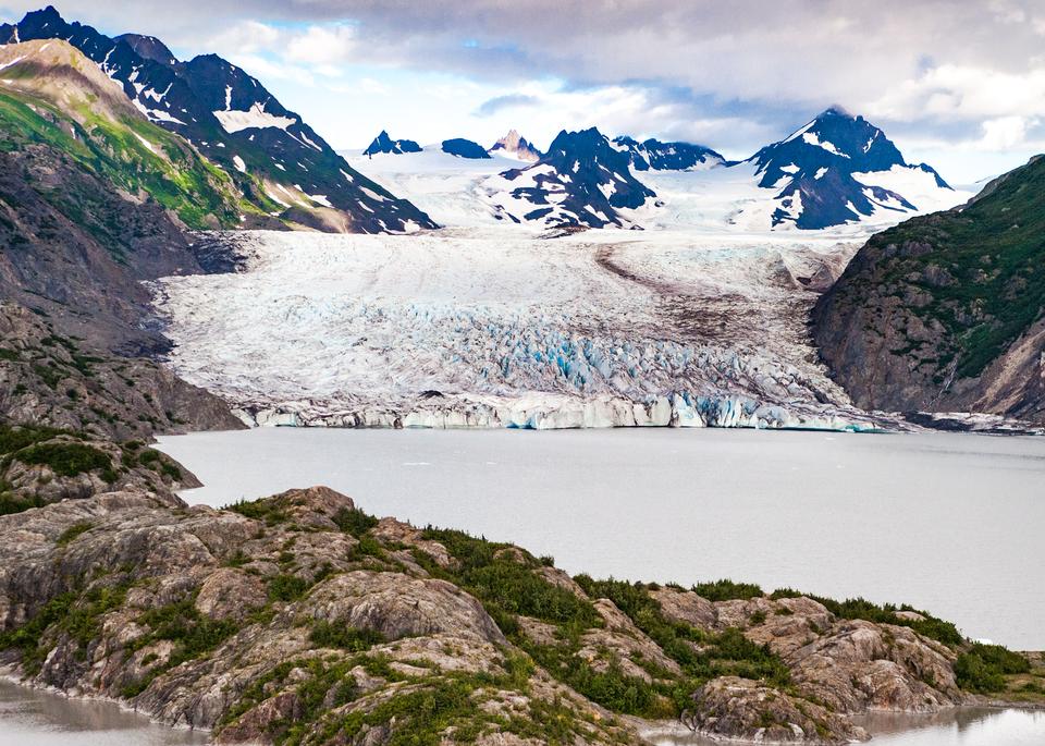 Grewingk Glacier And Terminus (Color) Photography Art | Hatch Photo Artistry LLC