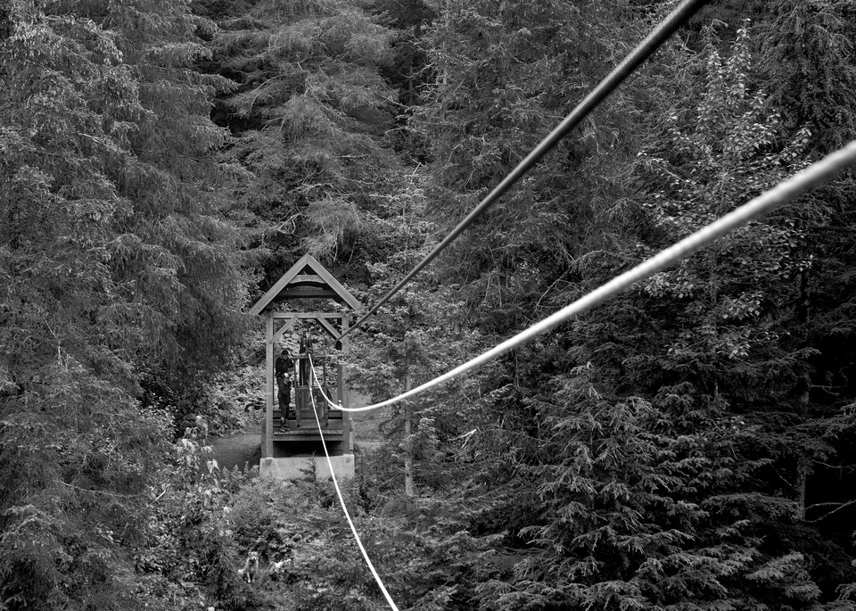 Crow Creek Hand Tram 14x18 Bw Photography Art | Hatch Photo Artistry LLC