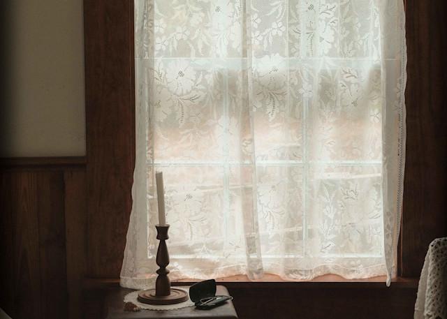 Lace Curtain Photography Art | David Frank Photography