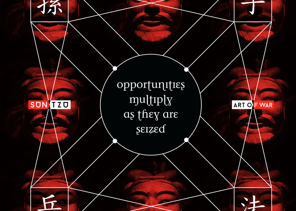Opportunities Multiply As They Are Seized Art | Awake Graphics, LLC