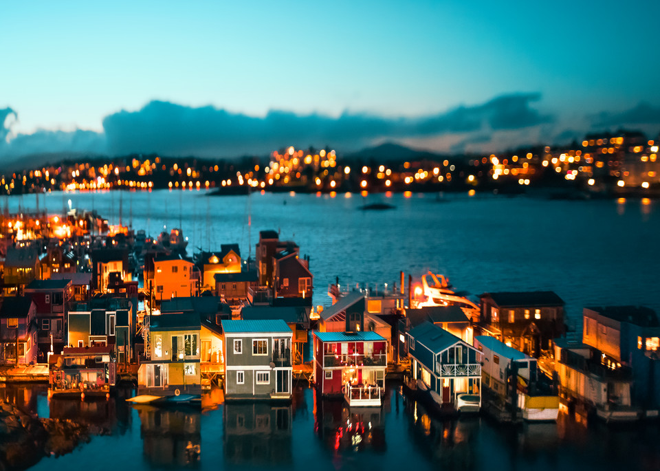 Tiny Float Homes Art | James Alfred Friesen