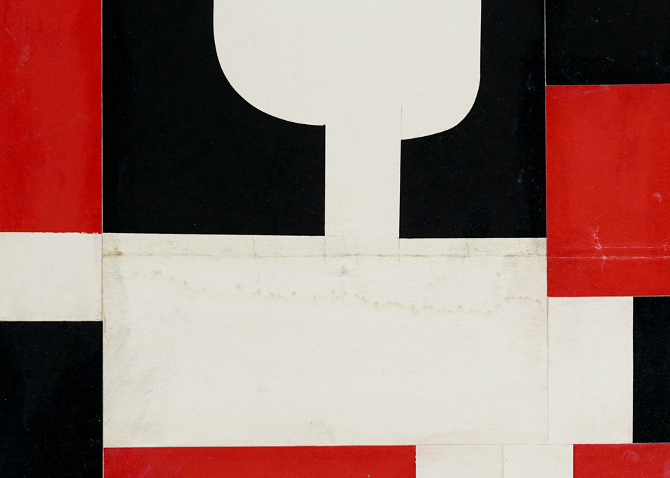 Collage Print by Cecil Touchon