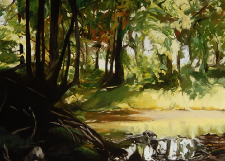 Spring Near The Creek Art | Helen Vaughn Fine Art