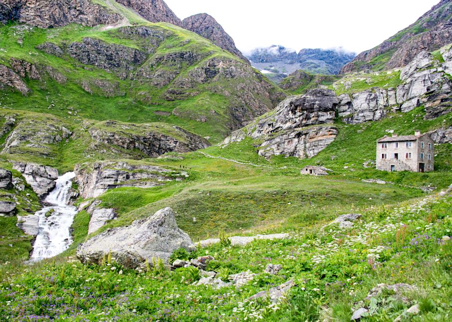 Stone House French Alps Photography Art | Hatch Photo Artistry LLC