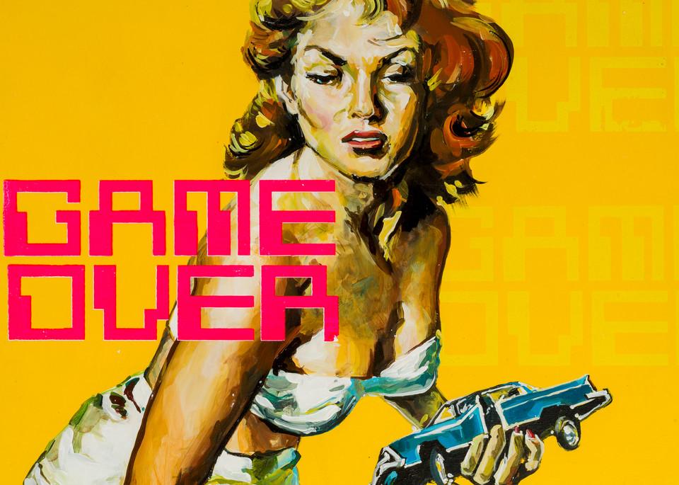 Game Over Art | Jeff Schaller