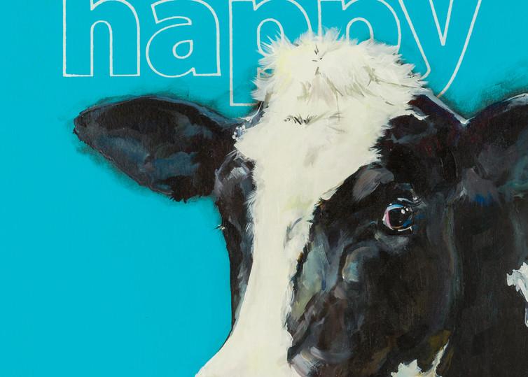 Happy Cow Art | Jeff Schaller