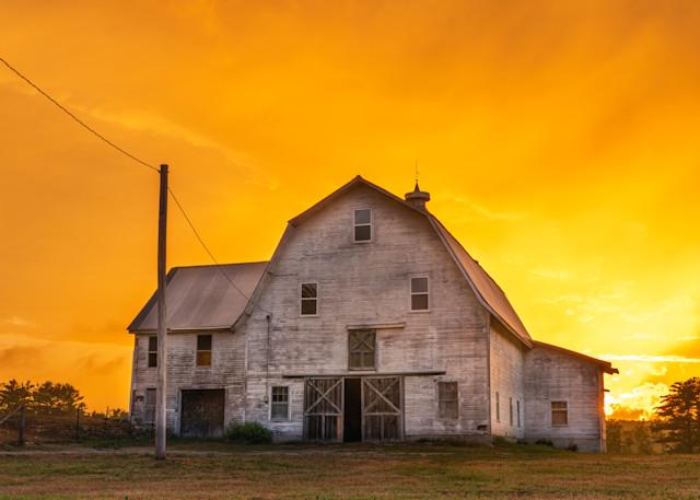 Sunset On The Farm Photography Art | Jesse MacDonald Photography