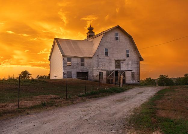 Sunset On The Farm 2 Photography Art   Jesse MacDonald Photography