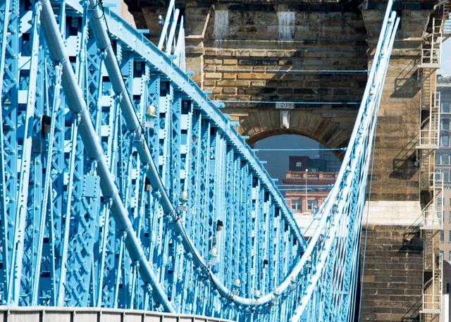 Robeling Bridge Suspension Cables Photography Art | Hatch Photo Artistry LLC