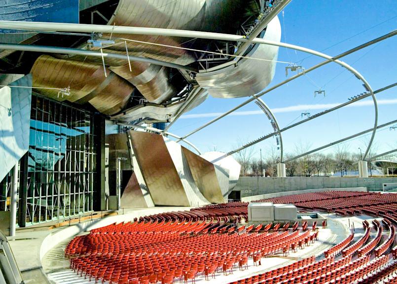 Pritzger Auditorium Chicago Il Photography Art | Hatch Photo Artistry LLC