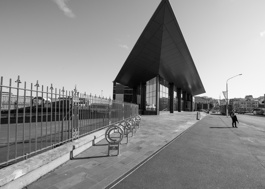 Terminal Dunedin Nz Bw Photography Art | Hatch Photo Artistry LLC