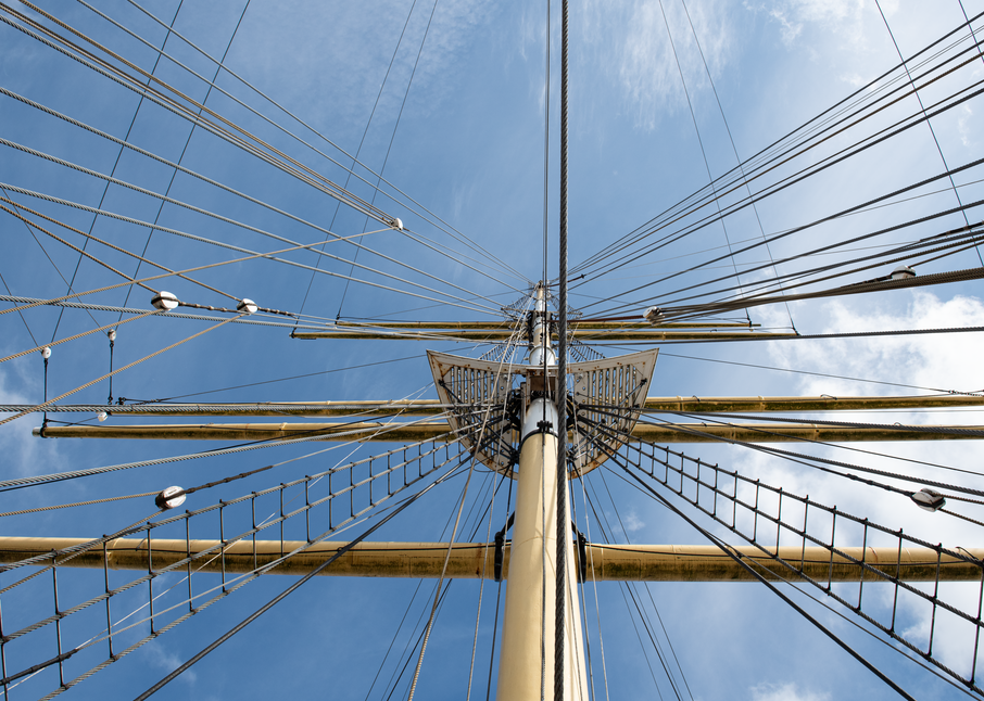 Shipshpe Tall Ship Spars And Rigging Photography Art | Hatch Photo Artistry LLC
