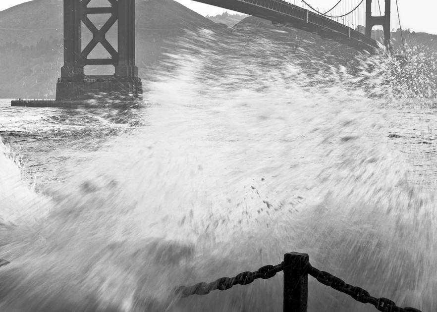 Seawall Slam Photography Art | Josh Kimball Photography