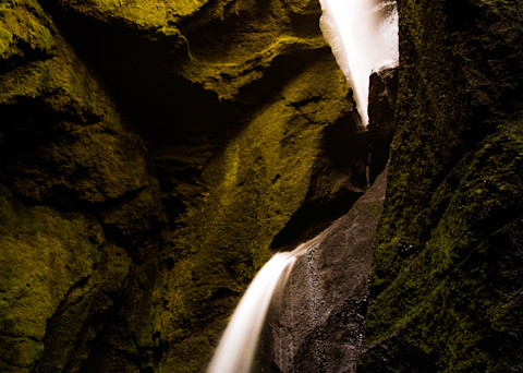 Hidden Falls Of Iceland Photography Art | Brokk Mowrey Photography