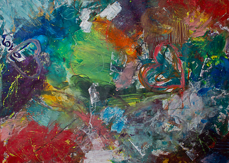 Give Me Your Words : : Blended With Love Art   Stephanie Visser Fine Art