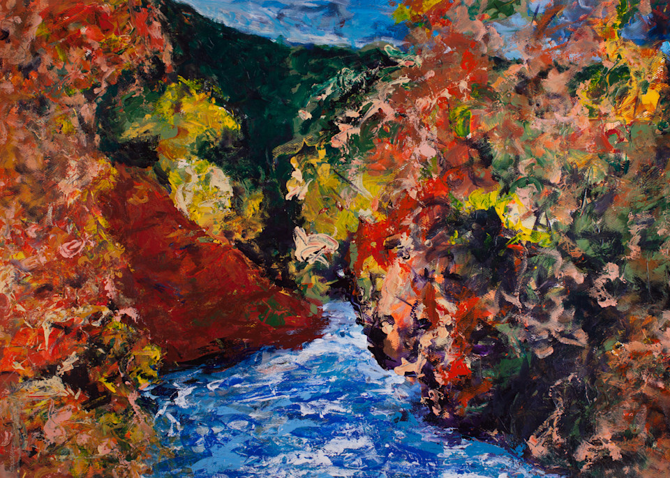 """My River"" Art   Daniel Kanow Fine Art"