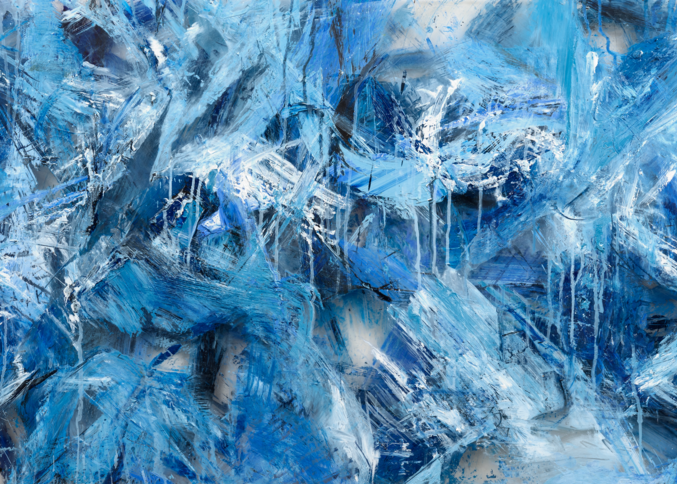 """Glacial Melt"" Single Panel Reproduction  Art 