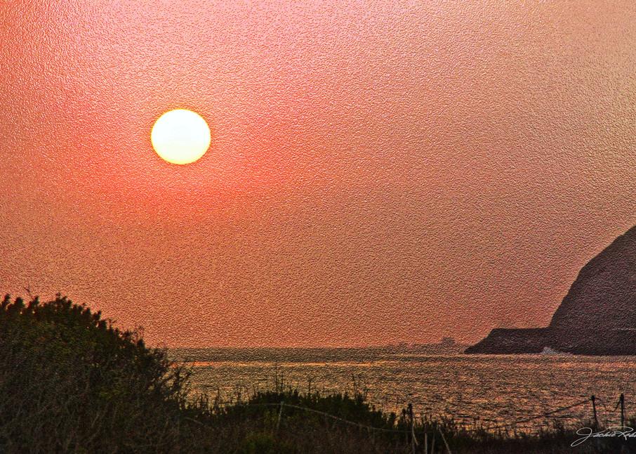 sunsets beach melon jackie-robbins-A-studio