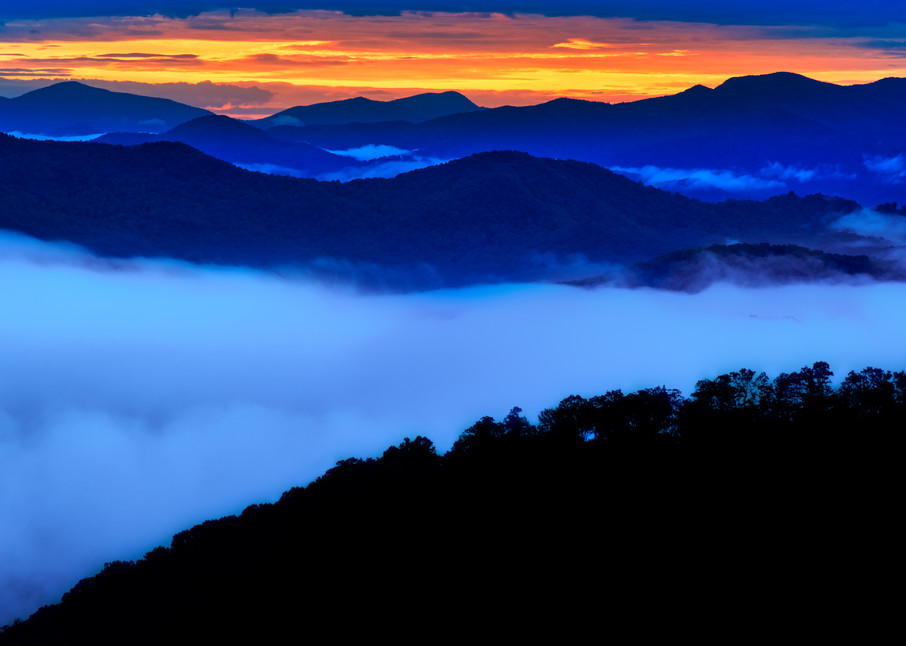 Blue Ridge Sunrise Photography Art | Andy Crawford Photography - Fine-art photography