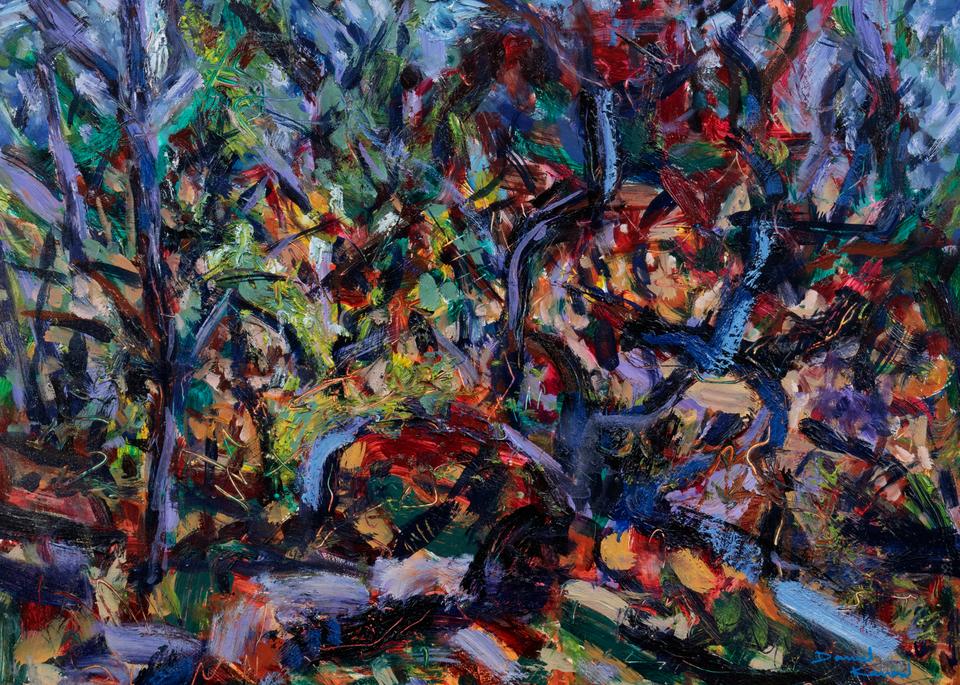 Studio In The Woods, 2017 Art   Daniel Kanow Fine Art