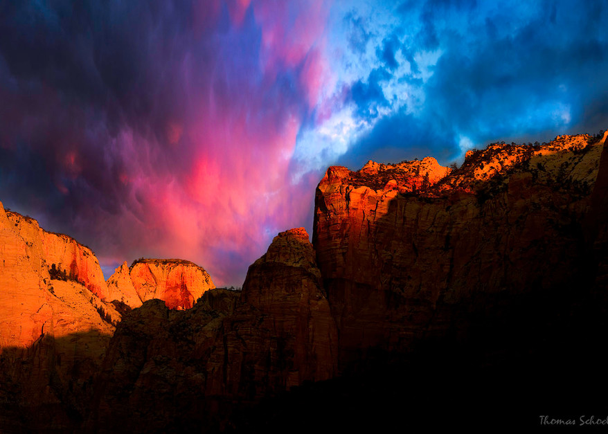 Towers Of The Virgin Zion National Park Utah | fine art photography prints for sale