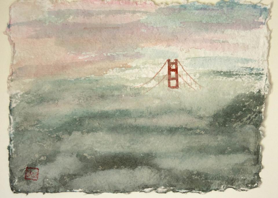 Foggy Bridge 2 Art   donnadacuti