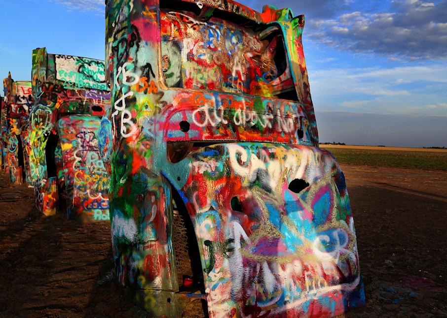 Parking Lot Of Old Souls Art | Chuck Redick Art
