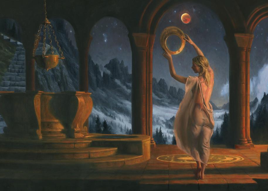 Red Moon Art   Studio Girard