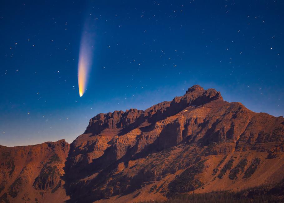 Neowise Comet with Hayden Peak