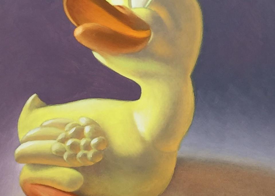 Vintage Rubber Ducky Art   Gema Lopez Fine Arts