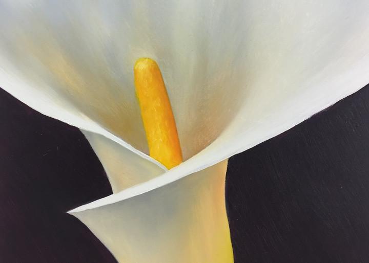 Calla Lily Iii Art | Gema Lopez Fine Arts
