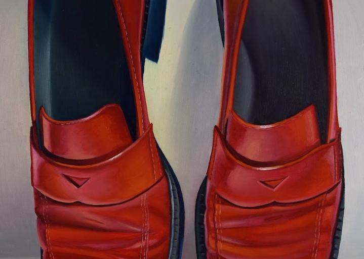 Fire Engine Red Art | Gema Lopez Fine Arts