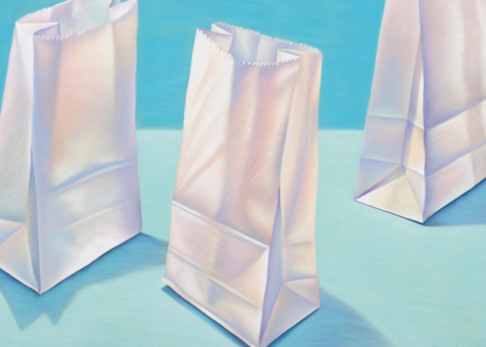 Lunch Bags At St. Joseph's Art | Gema Lopez Fine Arts