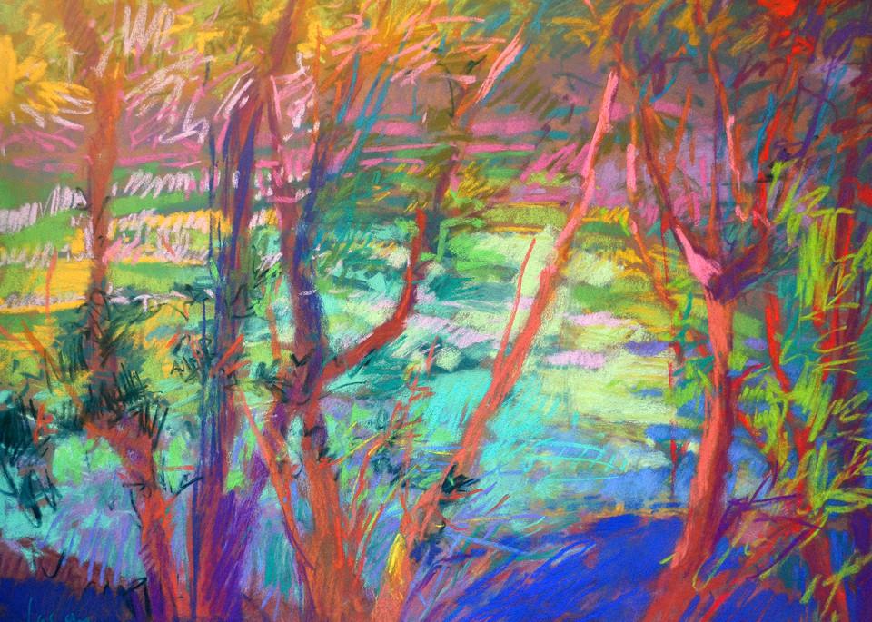River Tapestry Book Print Art | Dorothy Fagan Joy's Garden