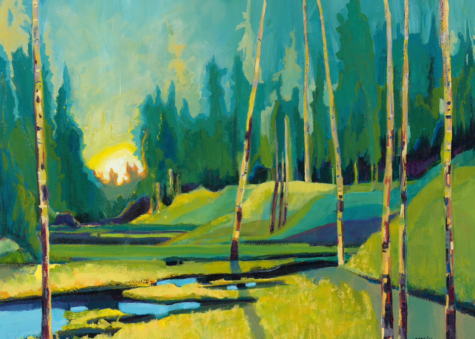 Abstract Landscape Art | Nikki Nienhuis