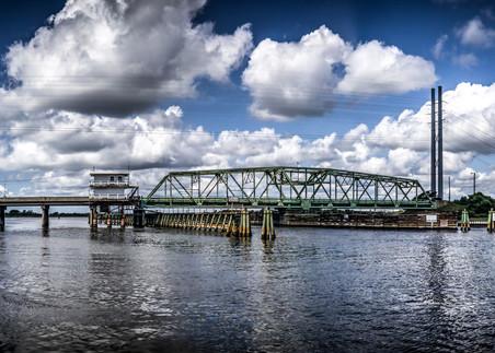 Topsail Island Swing Bridge Photos