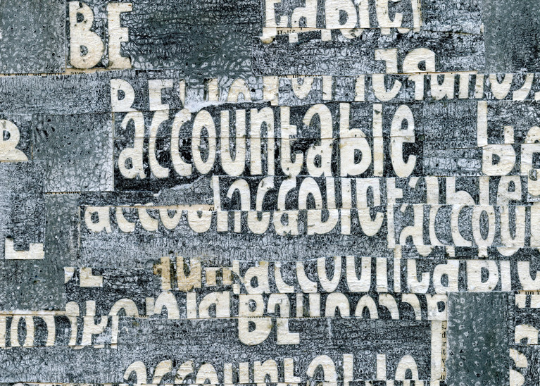Be Accountable  - Cecil Touchon