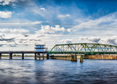 Swing Bridge Delight Photography Art | Art Sea Love