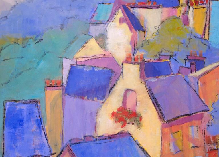 Cascading Dreams I Art | Dorothy Fagan Joy's Garden