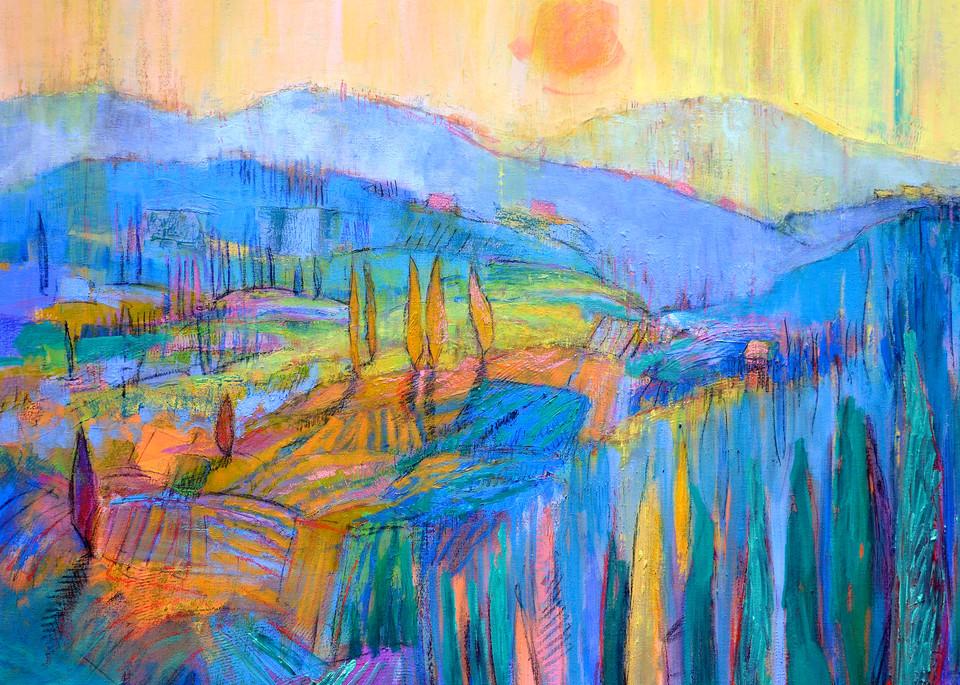 Embrace Of The Mountain Art | Dorothy Fagan Joy's Garden