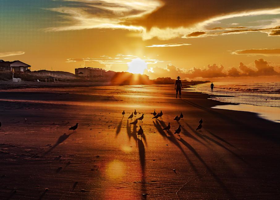 Birds On The Beach  Photography Art | Nelson Rudiak Photography