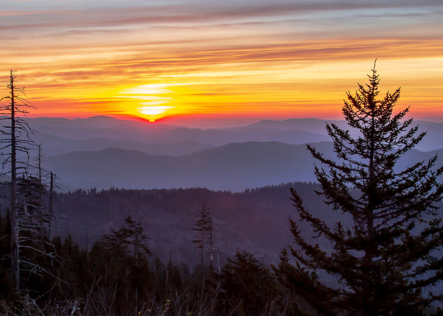 Smoky Mountain Sunrise  Photography Art | Nelson Rudiak Photography