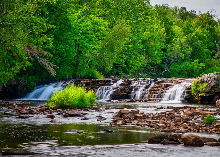 Great Chazy River Waterfall - Adirondack fine-art photography prints