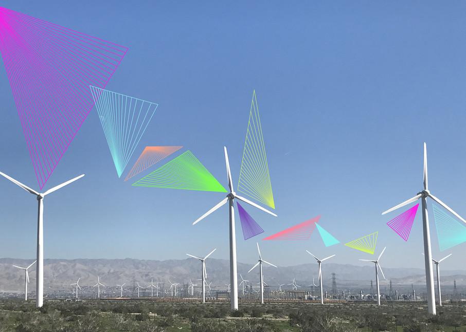 Neon Vortex Windmill