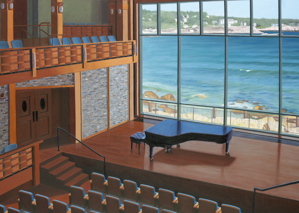 In The Key Of Sea Art | The Art of David Arsenault