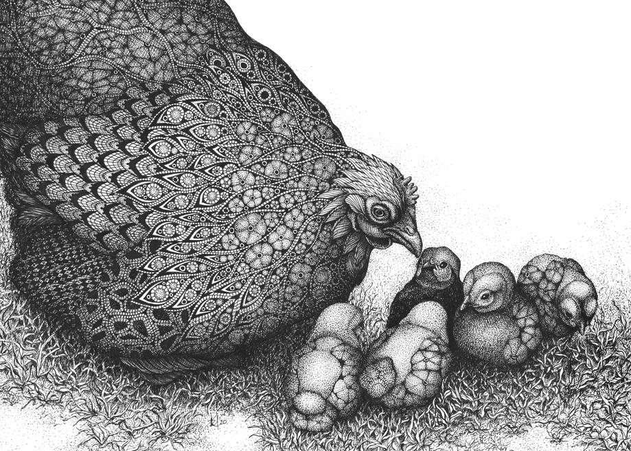 "Tired Mama Art | Kristin Moger ""Seriously Fun Art"""