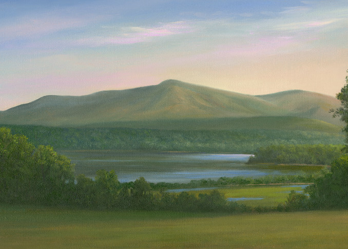 *View From Blithewood, Bard  Art | Tarryl Fine Art